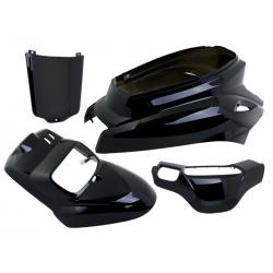 V PARTS - Kit carénages 4 pièces MBK Booster YAMAHA Bws 04-17 noir