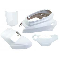 V PARTS - Kit carénages 4 pièces MBK Booster YAMAHA Bws 04-17 blanc