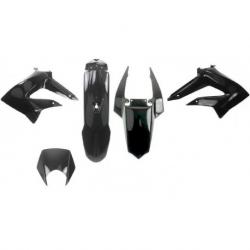 V PARTS - Kit carénages 6 pièces Derbi 50 DRD X-Treme Gilera 50 RCR SMT 11-17 noir