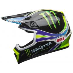 BELL - Casque Moto Cross Mx-9 Mips Team Pro Circuit Monster Energy Replica 18.0 Gloss