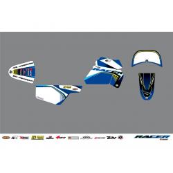 KUTVEK - Kit déco Racer bleu Yamaha PW50