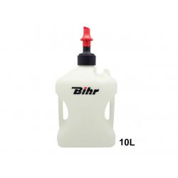 BIHR - Bidon d'essence Home Track homologué TÜV blanc 10L