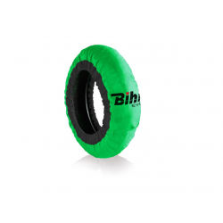 BIHR - Couvertures chauffantes Home Track EVO2 autorégulée vert pneus 180-200mm
