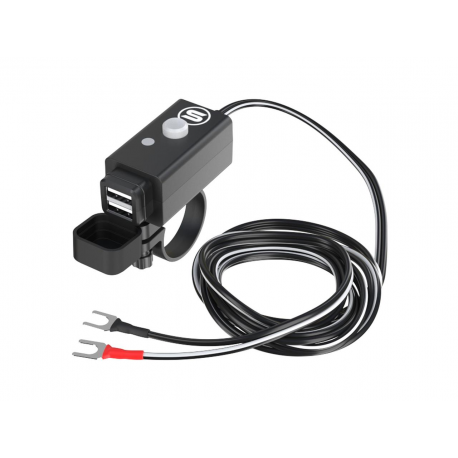 SO EASY RIDER - Chargeur Duo USB 5v 2x 2.1A, 12-24