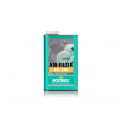 MOTOREX - Huile Filtre A Air Air Filter Oil 206 1Litre